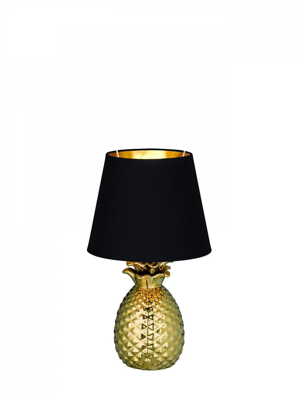 Pineapple bordlampe TRIO Gull   Best på lys