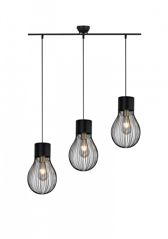 Tøffe lamper i sort metall | FINN.no