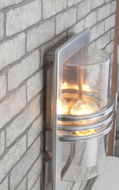 Bakplate Kjøkken : Skrova vegg arctic lighting galvanisert lampehuset