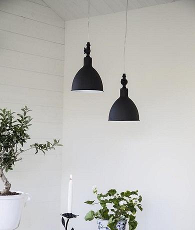 Bazar taklampe ByRydens Sort | Best på lys